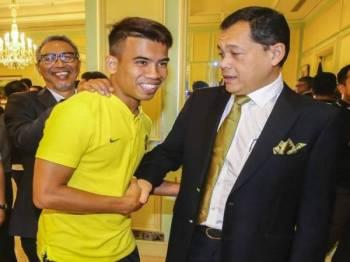 Hamidin melontarkan cabaran kepada Safawi untuk menjaringkan gol dalam perlawanan menentang Indonesia semalam.