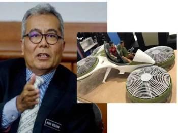 Semalam, Menteri Pembangunan Usahawan, Datuk Seri Mohd Redzuan Yusof berkata, sesi pandu uji kereta terbang yang dikhabarkan berlangsung esok akan dibuat secara tertutup tanpa penglibatan media.