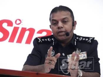 Ayob Khan ketika ditemubual pada program Sinar Live di Kumpulan Media Karangkraf di sini hari ini. FOTO:ZAHID IZZANI
