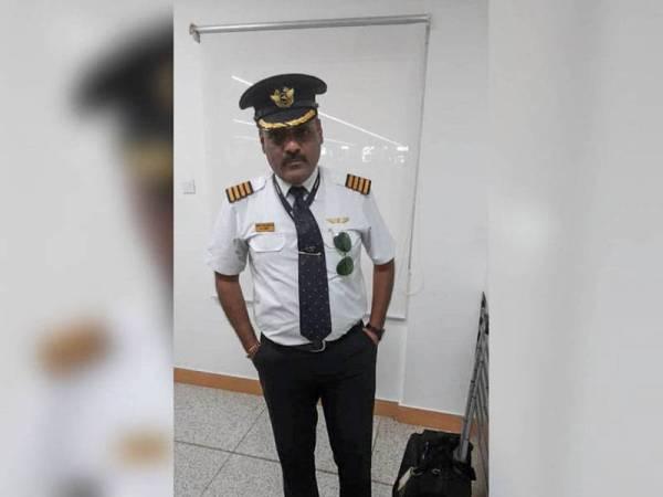 Mahbubani memakai uniform juruterbang itu untuk mengelakkan daripada beratur panjang dan pemeriksaan keselamatan.