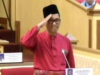 Ahmad Faizal Azumu pada sesi Sesi Penggulungan Belanjawan Negeri 2020 pada sidang Dewan Undangan Negeri (DUN) Perak hari ini