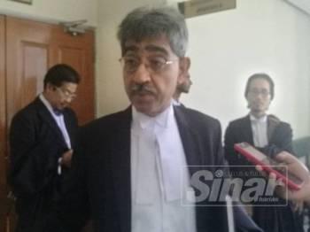 Mohd Haniff ketika ditemui pemberita di luar mahkamah hari ini.