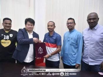 Gambar yang dikongsikan di laman Facebook rasmi Melaka United hari ini.