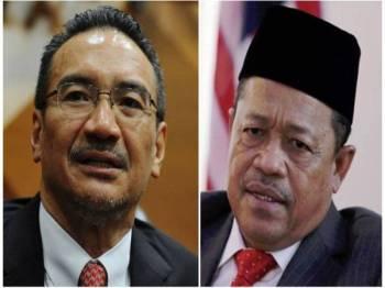 Hishammuddin Tun Hussien, Datuk Seri Shahidan Kassim