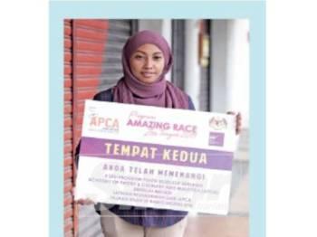 ISMALIA pernah memenangi tiga sesi program pastri eksklusif bersama Academy of Pastry & Culinary Arts Malaysia.