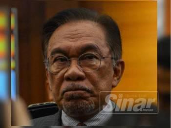 Anwar Ibrahim - Foto SHARIFUDIN ABDUL RAHIM