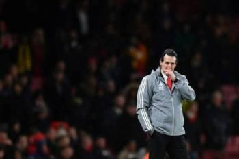 Emery -Foto AFP