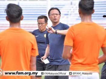 Kim Swee tetap komited dengan tugasnya bagi menghadapi temasya Sukan SEA 2019 di Filipina. -Foto FAM