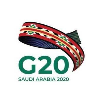 Logo G20 Saudi Arabia 2020
