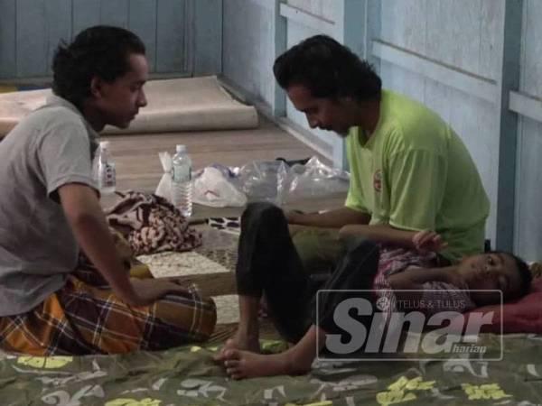 Dua abang Muhammad Rasydan Sufi yang sanggup bergadai nyawa menyelamatkan adik kesayangan mereka.