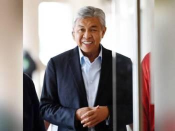 Ahmad Zahid berdepan 47 pertuduhan melibatkan jutaan ringgit dana Yayasan Akalbudi. - Foto Bernama