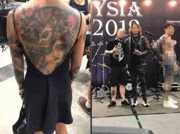 Penganjur Tattoo Malaysia Expo 2019, Blackout Trading memohon maaf kepada rakyat Malaysia berhubung insiden peragaan tatu separuh bogel baru-baru ini.