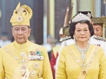 Sultan Kedah, Al Aminul Karim Sultan Sallehuddin Sultan Badlishah dan Sultanah Kedah Sultanah Maliha Tengku Ariff. - Foto Bernama