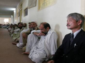 Dr Tetsu Nakamura terbunuh dalam serangan hendap di Jalalabad kelmarin.