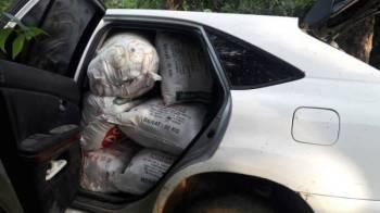 Guni berisi ketum ditemui dalam kereta jenis Toyota Harrier.