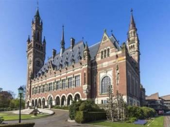 Mahkamah Keadilan Antarabangsa (ICJ) di The Hague, Belanda.