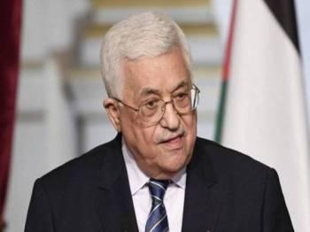 Mahmoud Abbas - Foto AFP