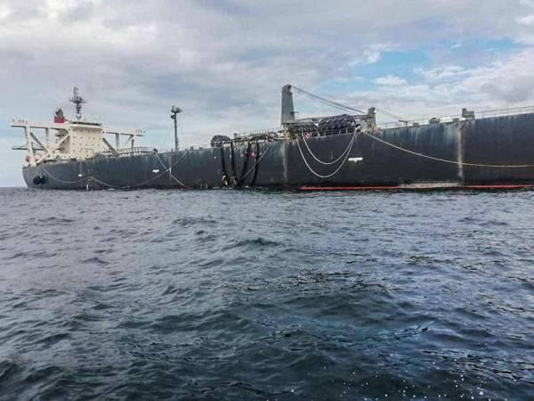 APMM Kuala Kurau sedang mengesan sebuah kapal yang dilaporkan berlabuh tanpa kebenaran.