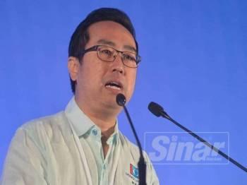 Lih Kang berucap pada sesi pergulungan Kongres Nasional PKR ke-14 tahun 2019 di MITC hari ini. - Foto Sinar Harian SHARIFUDIN ABDUL RAHIM
