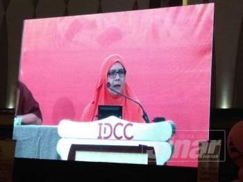 AJK Pimpinan Nasional Amanah, Dr Siti Mariah Mahmud.