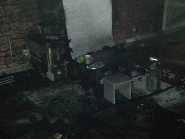Seorang lelaki terselamat dalam kebakaran di sebuah kondominium di Setapak kira-kira jam 12 tengah malam tadi.