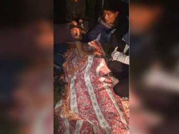 Mayat mangsa berjaya ditemui pagi tadi sebelum diserahkan kepada pihak polis.