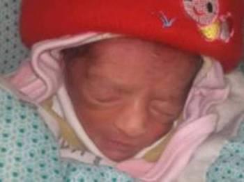 Bayi tidak bernama itu bagaimanapun telah dipulangkan ke pangkuan keluarganya. - Foto Agensi