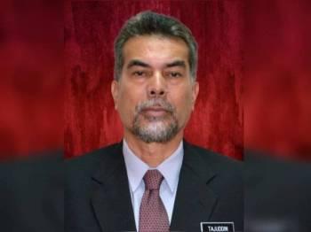 Pengarah Jabatan Pendidikan Negeri (JPN) Pahang, Datuk Dr Tajuddin Mohd Yunus