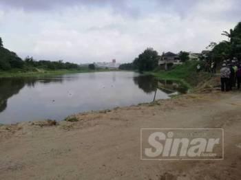 Kawasan Kolam Takungan Air Kampung Pasir Kota.