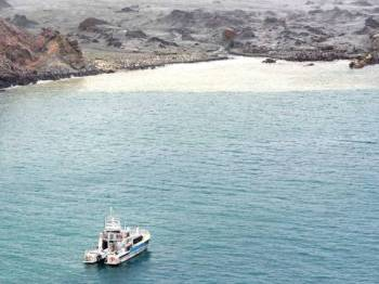 Tentera elit Angkatan Pertahanan New Zealand menyertai misi untuk membawa keluar mayat mangsa dari White Island. -Foto: AFP