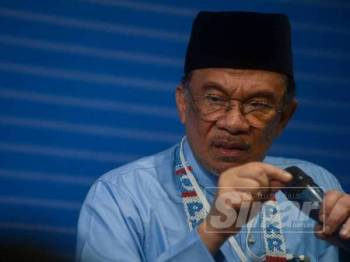 Anwar Ibrahim -Foto Sinar Harian