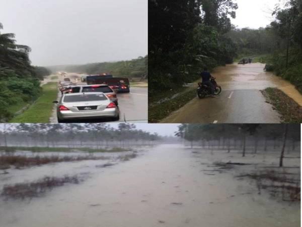 Situasi banjir yang semakin buruk di beberapa kawasan. Foto: Pembaca