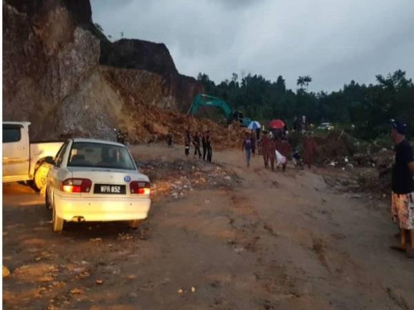Suasana di sekitar lokasi kejadian. - Foto: JBPM Kuala Nerus