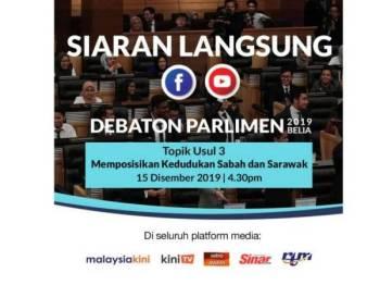 Program Debaton Parlimen 2019.