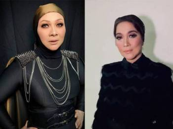 Gambar kiri: Noorshila, gambar kanan: Wann
