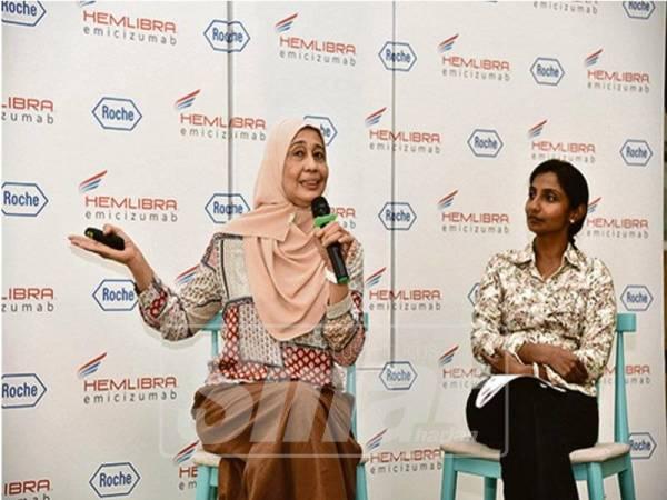 DR Jameela Sathar & Dr Veena Selvaratnam merupakan Pakar Perunding Hematologi Hospital Ampang, Selangor.