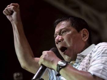 Presiden Duterte mengulangi pendiriannya untuk tidak memberi kerjasama dengan pasukan penyiasat ICC. - Foto: Agensi