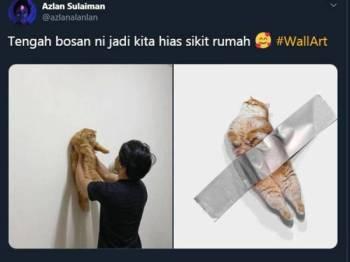 Paparan Twitter Azlan Sulaiman tular di laman sosial.
