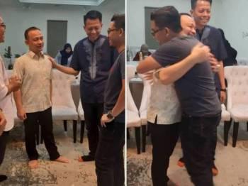 Mohd Fadhli berkongsi reaksi Maszlee ketika bertandang ke rumah Ahli Parlimen Simpang Renggam itu malam tadi.