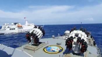 Indonesia mengerahkan empat kapal perang tambahan ke perairan Natuna. - FOTO: AGENSI