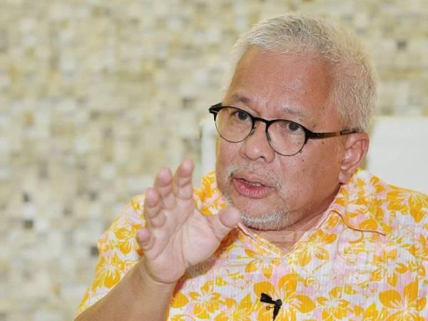 Datuk Dr Hussamuddin Yaacub ketika wawancara eksklusif bersama Sinar Harian, semalam. - Foto Sinar Harian ROSLI TALIB