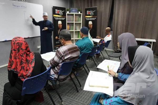 PUJUK hati untuk sentiasa bertandang ke majlis ilmu kerana ALLAH menjanjikan keberkatan dan pahala yang melimpah-ruah.