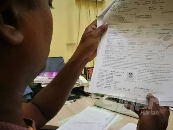 Maklumat butir diri pemilik akaun dikesan wanita warganegara Thailand yang diubah penjenayah siber.