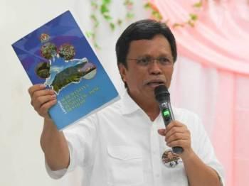 Presiden Warisan, Datuk Seri Mohd Shafie Apdal - Foto Bernama