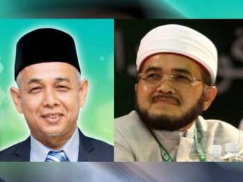 Gambar kiri: Wan Mat, gambar kanan: Nik Muhammad Zawawi