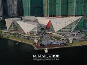 Gambar dikongsikan di Facebook rasmi Sultan Johor, Sultan Ibrahim Sultan Iskandar.