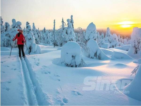SEBUAH negara yang menggunakan sumber tenaga yang mesra alam menjadikan Finland negara yang menghidangkan pemandangan alam semulajadi.