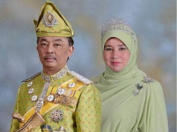 Al-Sultan Abdullah dan Tunku Azizah
