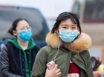 Wabak ini mula dikesan di Wuhan awal Januari lalu.