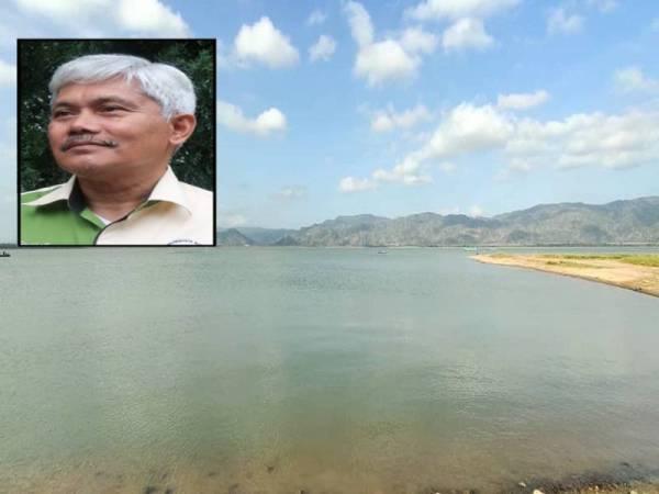 Kualiti air di tasik Timah Tasoh berlaku penurunan akibat aktiviti manusia. (Gambar kecil:  Dr Ahmad Ismail)